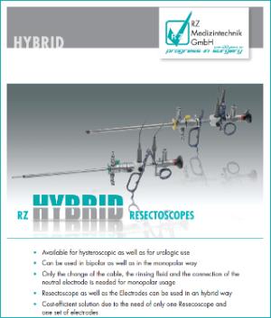 Преимущества гибридных резектоскопов RZ