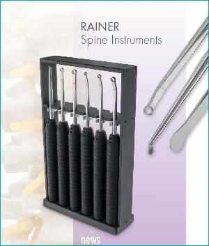 Наборы инструментов по Rainer для спинальной хирургии