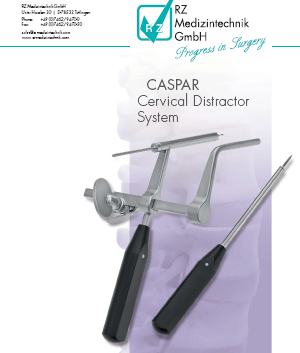 Система цервикального дистрактора Каспара